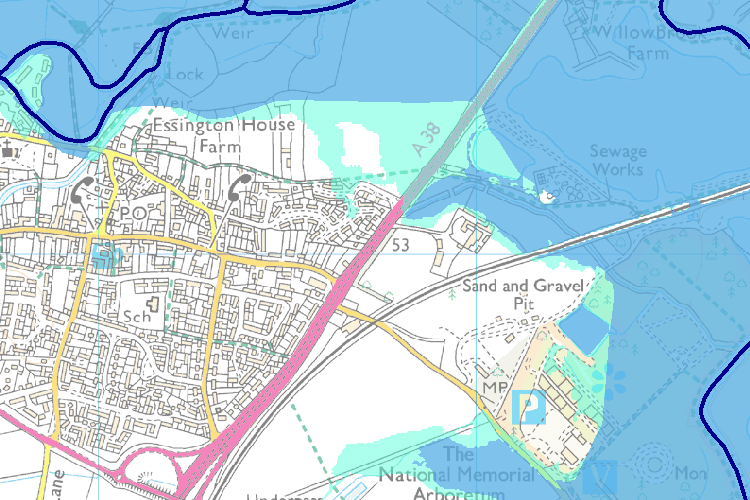 Alrewas Flood Map - Environment Agency